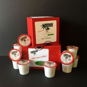 k-cups kona coffee from kenaikoffee.com